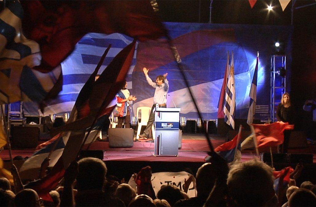 Frente Amplio con 35% de intención de voto y Partido Nacional con 25%