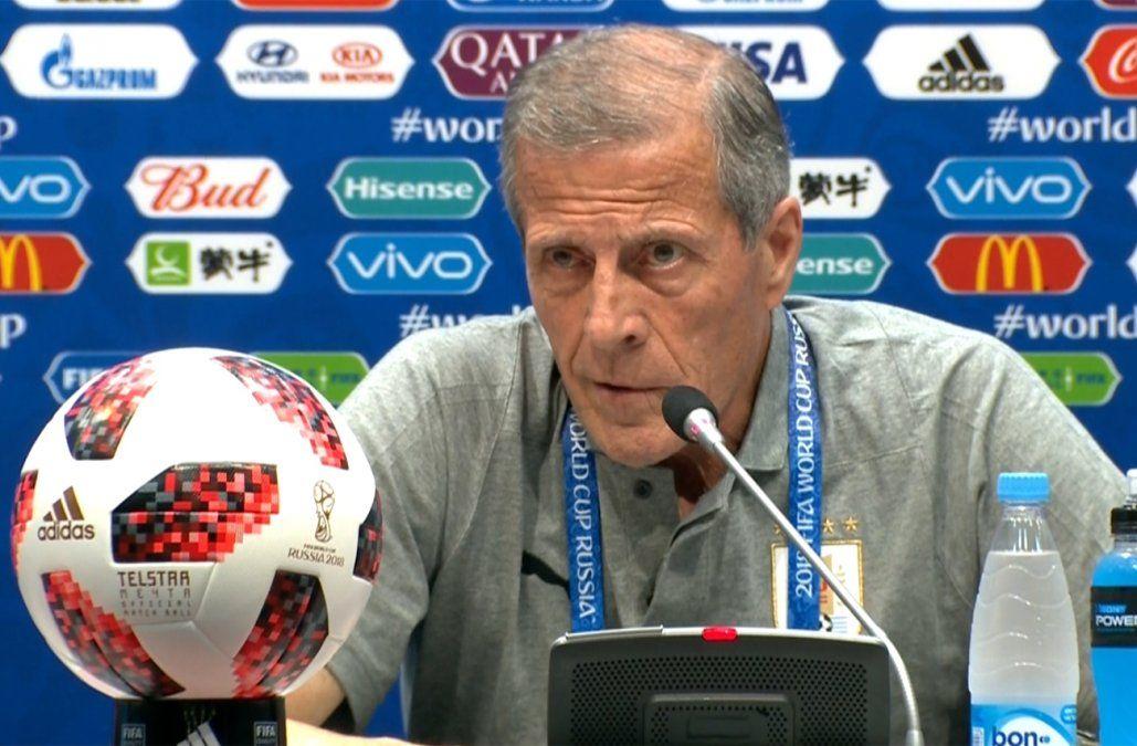 Tabárez sobre el partido de octavos: Tenemos con qué enfrentar a Portugal