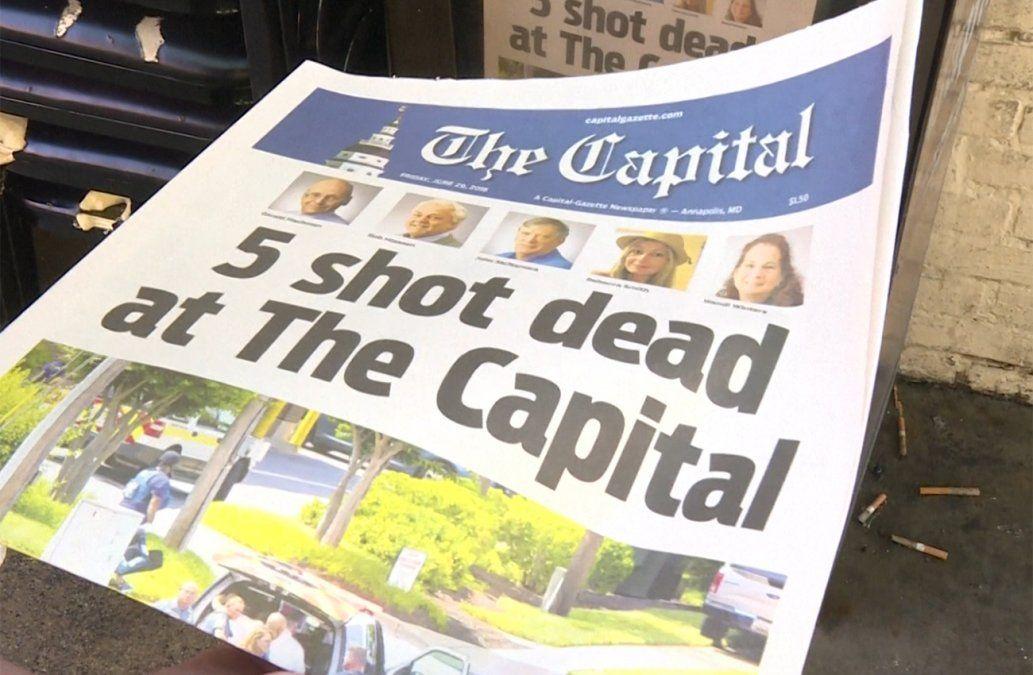 Tirador atacó el periódico porque habían denunciado que acosaba a una mujer