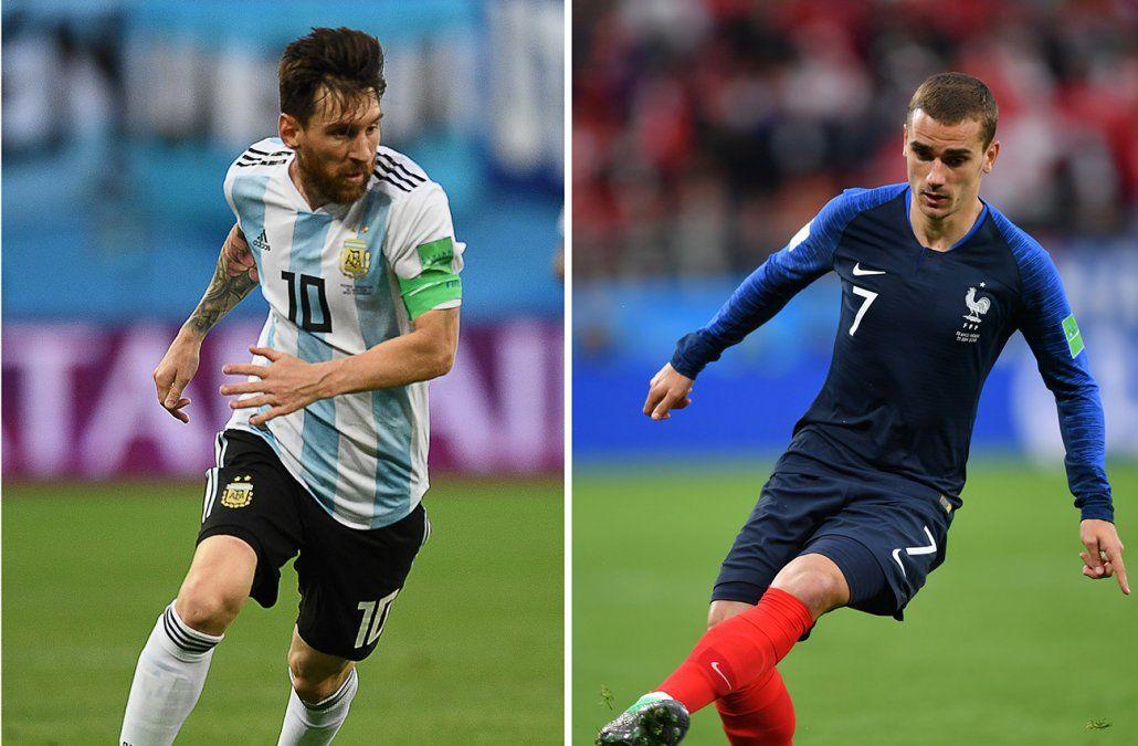 Partidazo en Kazán: Argentina y Francia abren los octavos de final de la Copa del Mundo