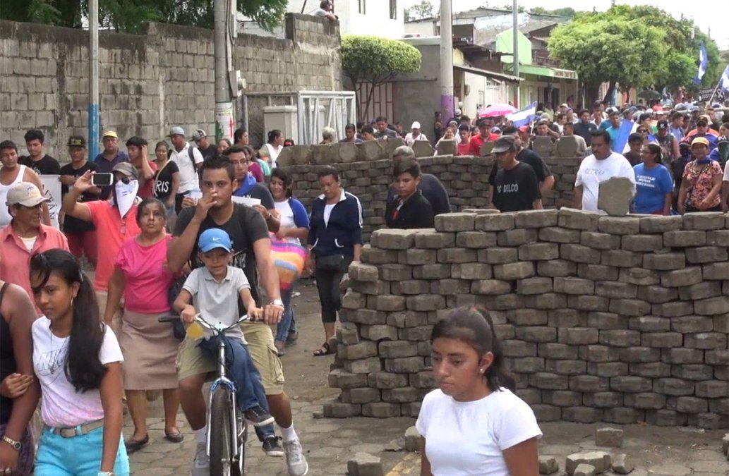 Nicaragüenses vuelven a las calles para exigir la salida de Ortega