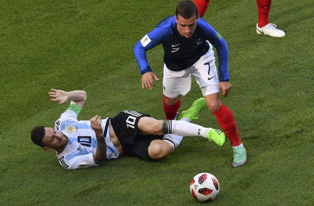 En un partidazo, Francia eliminó a Argentina 4-3 y clasificó a cuartos de final