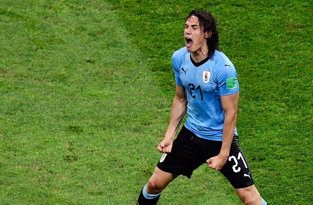 Reviví el golazo de Cavani tras centro perfecto de Suárez, fue el 1-0