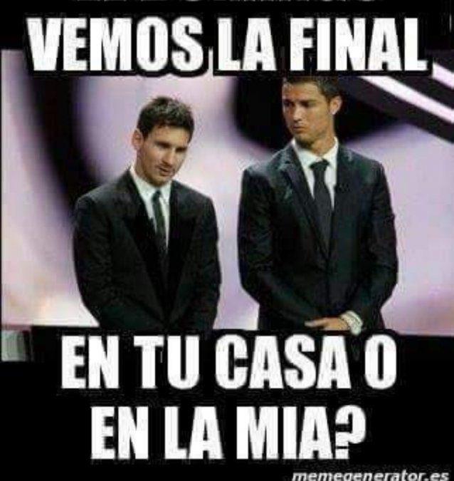 Lluvia de memes para Cristiano Ronaldo y Messi en las redes sociales