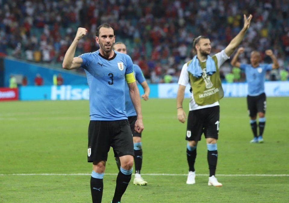 Los mejores momentos de Uruguay-Portugal en imágenes