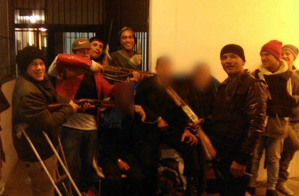 Los cabecillas del motín en Santiago Vázquez son homicidas y rapiñeros con largas penas