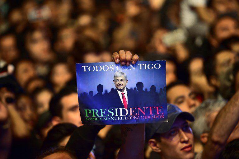 Un López Obrador sonriente y relajado fue la tónica de la campaña que lo llevó a la victoria