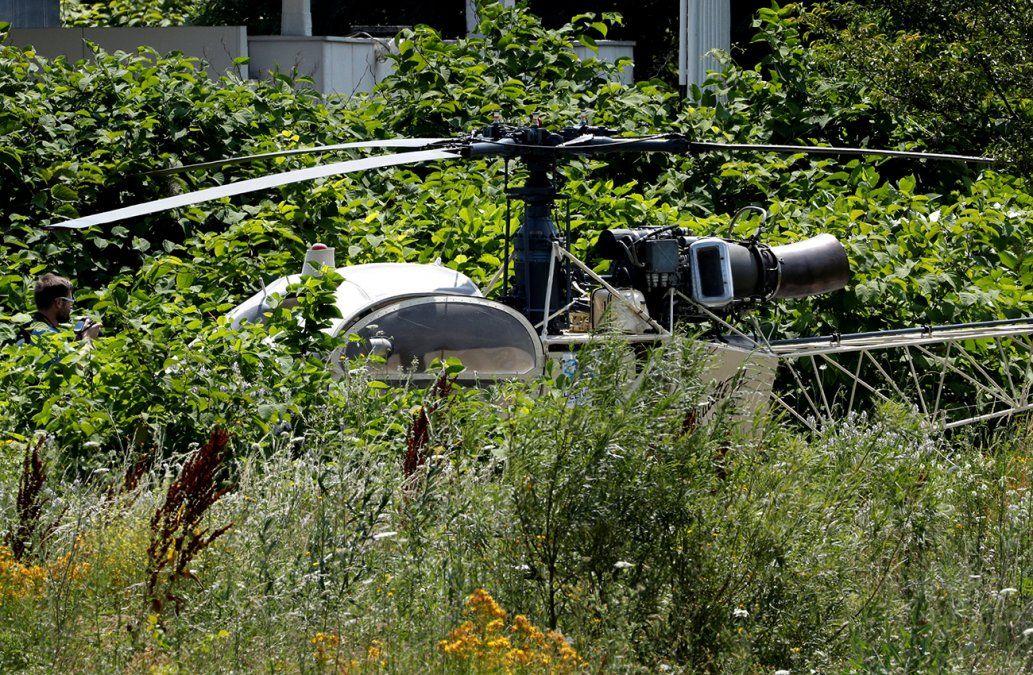 Famoso ladrón profesional escapó en helicóptero de una cárcel de París