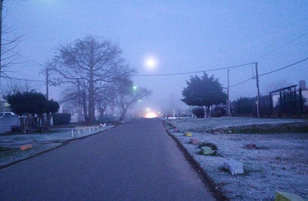 Miércoles y jueves con temperaturas bajo cero y heladas