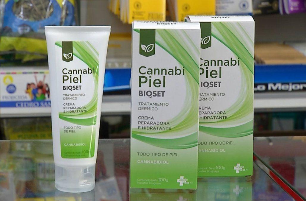 Foto: Cannabi Piel. Crema con cannabidiol disponible en las farmacias.