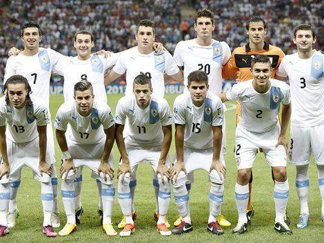 Selección Sub-20 de Uruguay en el Mundial de Turquía 2013: muchas caras conocidas que volverán a verse con sus colegas franceses en Rusia 2018 ya como futbolistas mayores.