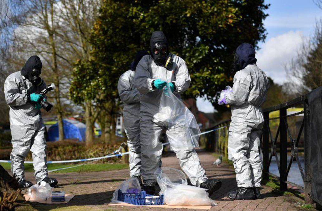 Dos británicos envenenados con mismo agente neurotóxico que el exespía ruso