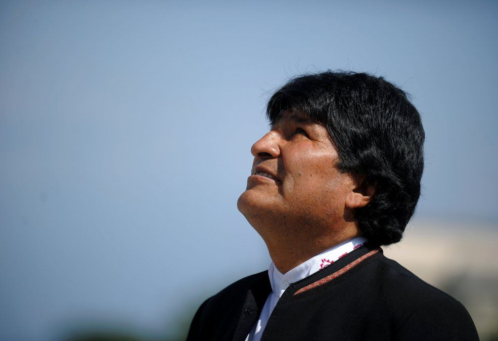 Evo Morales dice que le operaron satisfactoriamente de un tumor
