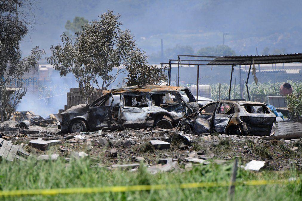 Accidente con fuegos artificiales deja 19 muertos y 40 heridos en México