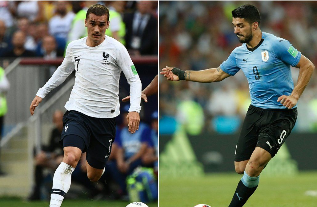 Uruguay enfrenta a Francia con la ilusión de estar entre los cuatro mejores del mundo