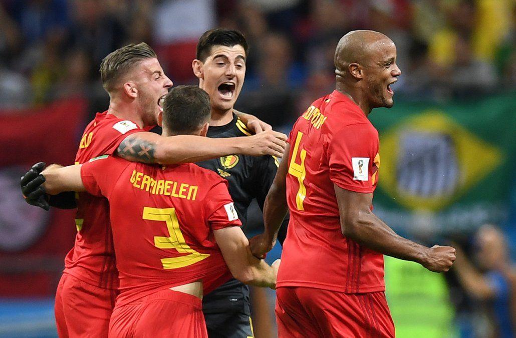Se fue otro grande: Bélgica eliminó a Brasil y jugará semifinal con Francia