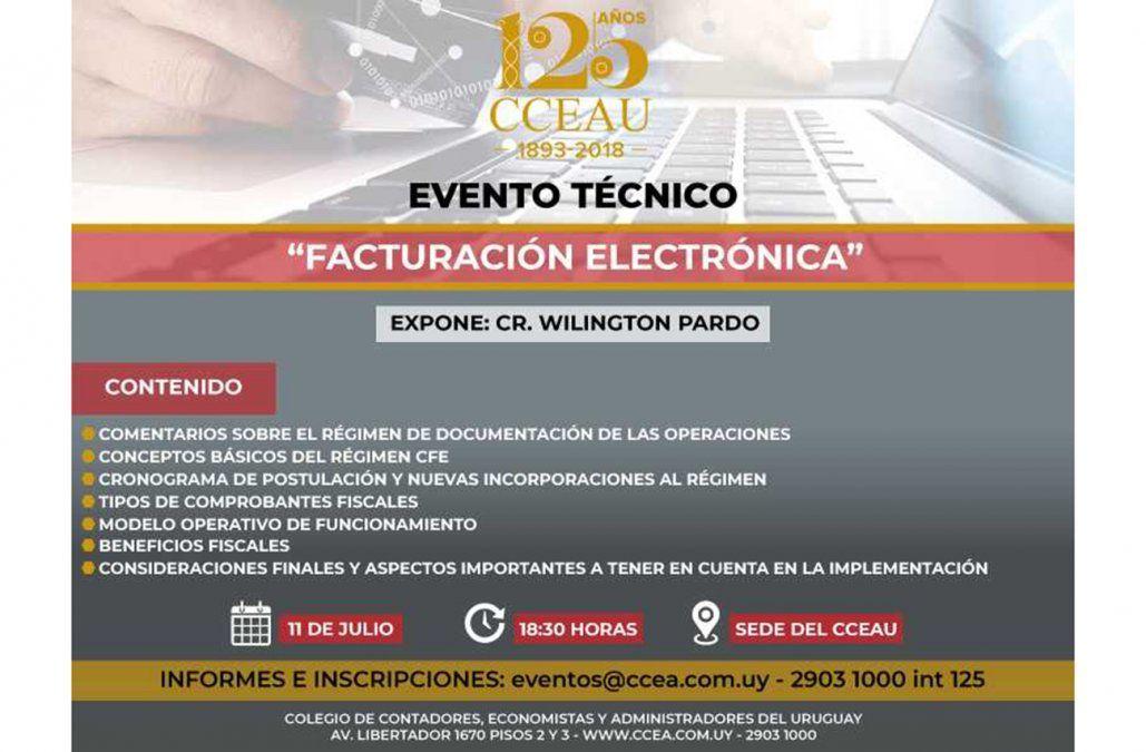 Colegio de Contadores desarrolla intensa formación sobre Facturación Electrónica