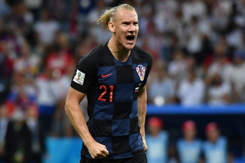 La Fifaiza La Celebracion Del Croata Domagoj Vida