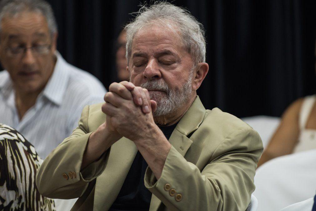 Lula en el lanzamiento del libroA Verdade Vencerá: O Povo Sabe Por Que Me Condenam.