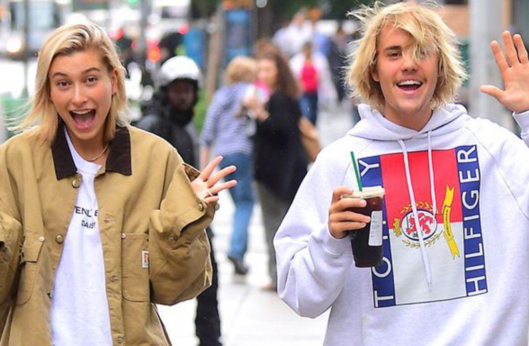 Justin Bieber se comprometió con la modelo Hailey Baldwin según la prensa