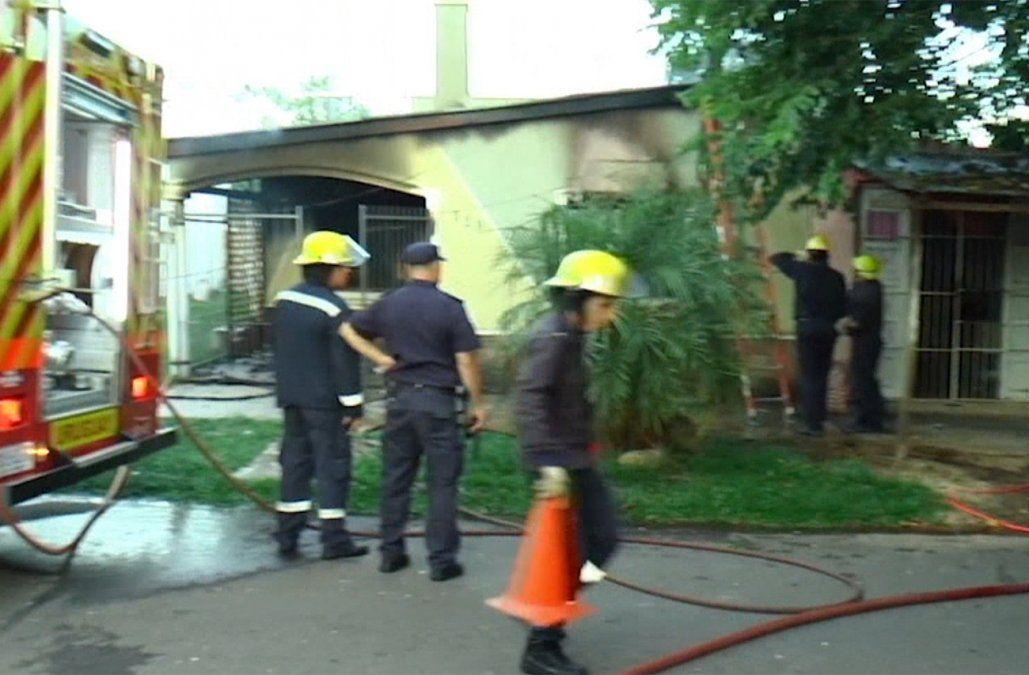 Una mujer de 93 años y su hijo de 55 murieron tras incendiarse su vivienda