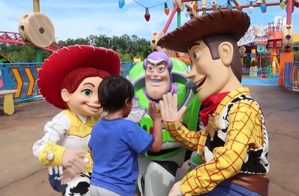 Toy Story Land, un nuevo mundo infantil