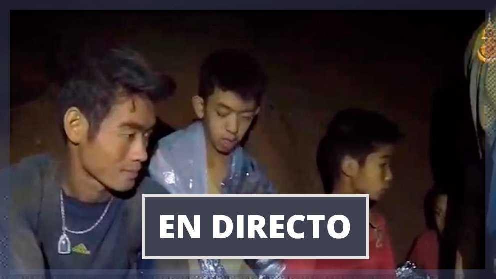 La televisación del rescate se sigue en directo