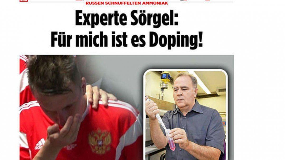 Periodismo alemán pone el foco en la costumbre rusa de buscar ventajas deportivas por el uso de sustancias