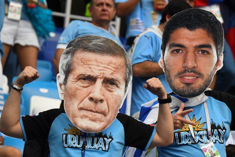 El maestro Tabárez generó en Rusia una idolatría a la par de los principales futbolistas.