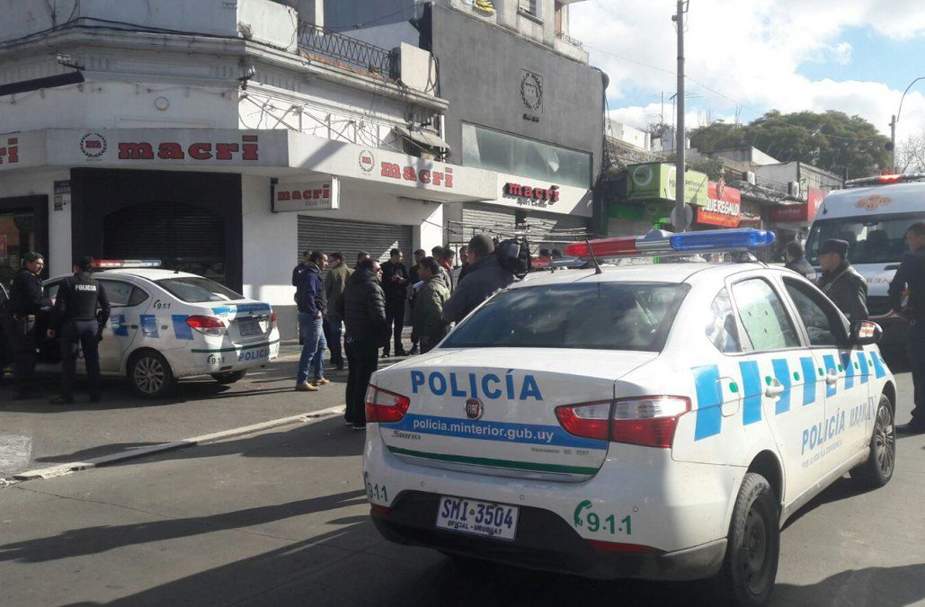 Delincuente a los tiros dejó dos personas heridas en Paso Molino