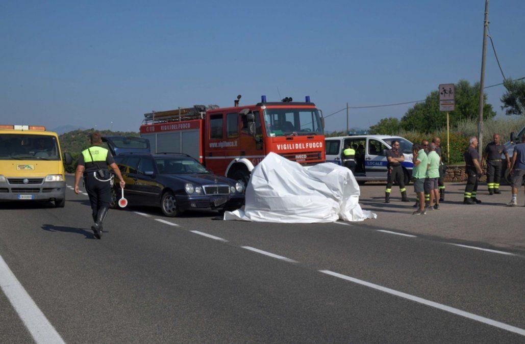 George Clooney con heridas leves tras estrellar su moto contra un auto en Italia