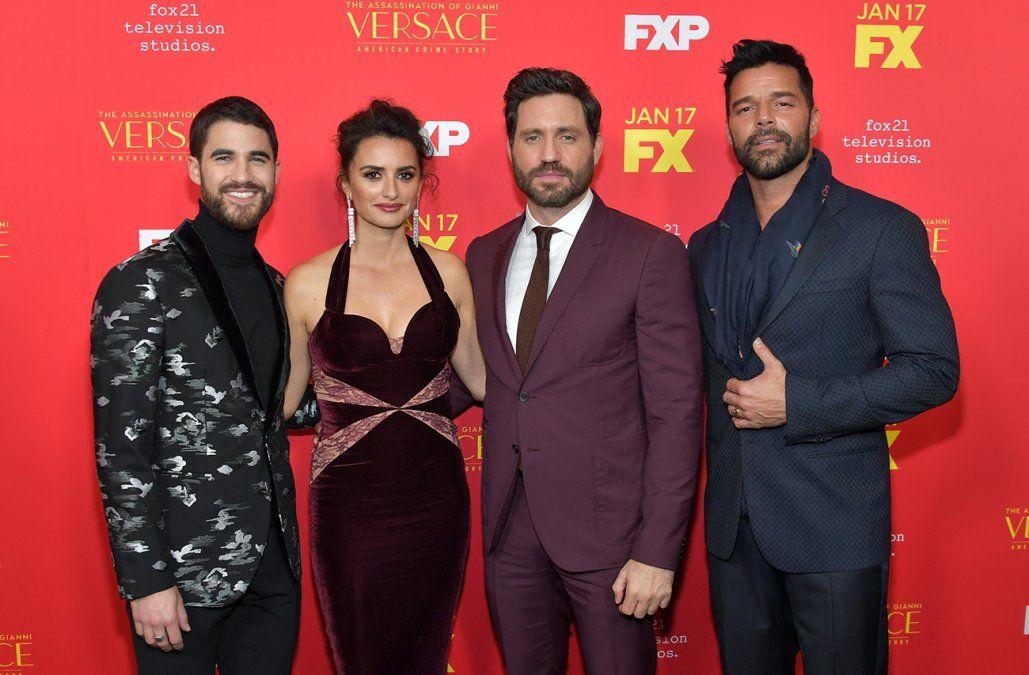 El Versace de Edgar Ramírez y Penélope Cruz, con chances de nominación al Emmy