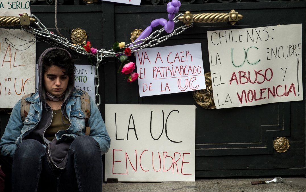 ¿Usted vino a dar una prueba oral o a que la ordeñen?: la toma en la Universidad de Chile