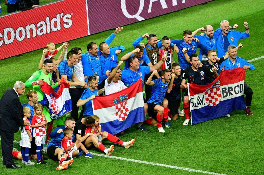 Croacia se lo dio vuelta a Inglaterra y jugará la final del mundo con Francia