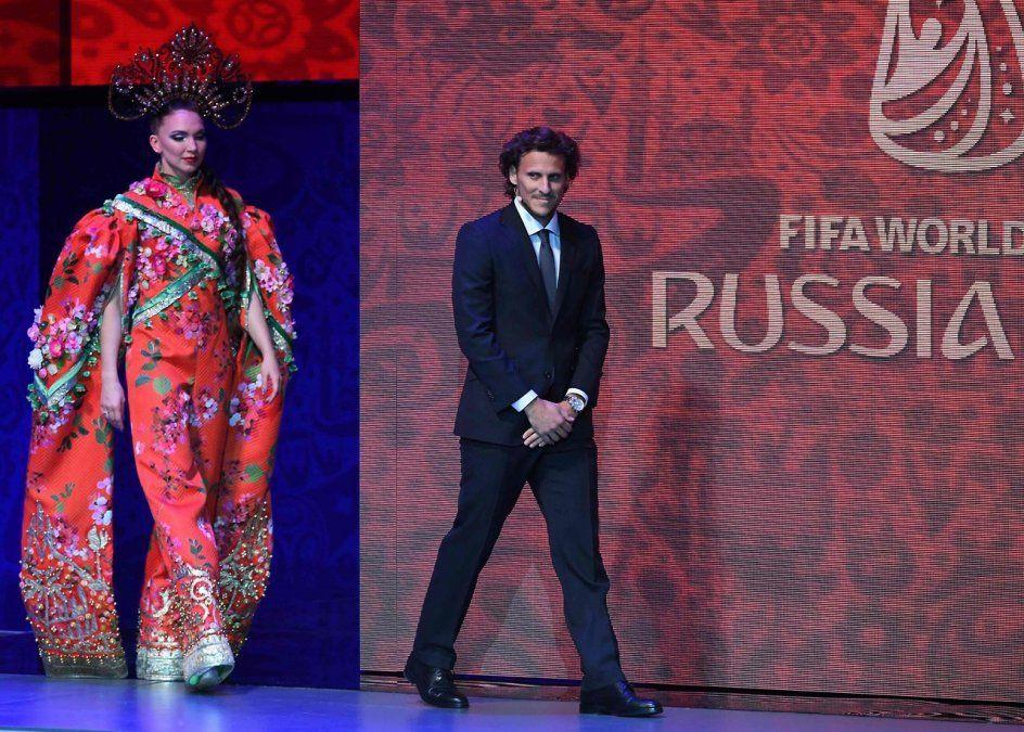El delantero ofició como analista en Rusia 2018 y le gustó. También tuvo una agenda nutrida de actividades invitado por FIFA.