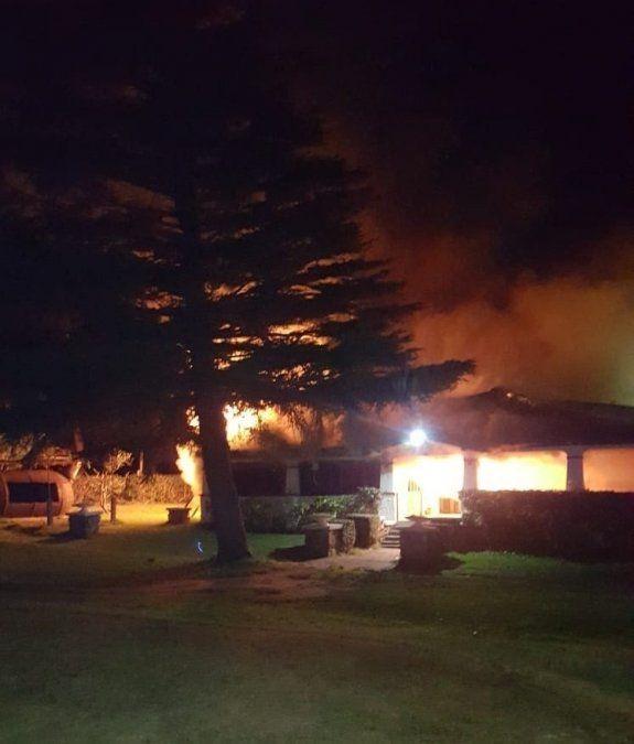 Se incendió el Club de Golf del Cerro