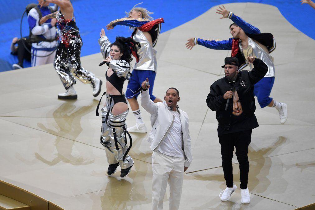 Galería: Así fue la ceremonia de cierre del Mundial de Rusia 2018