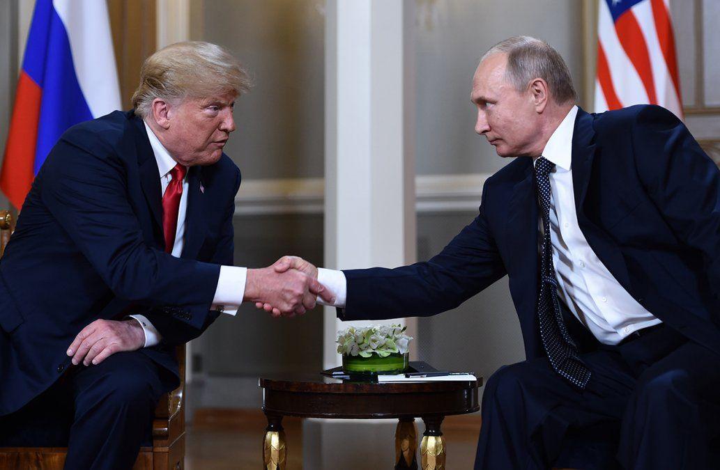 Trump espera lograr una relación extraordinaria con Vladimir Putin