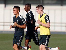 Pajarito Valverde volvió a entrenar con el Real Madrid pedido por el DT Julen Lopetegui