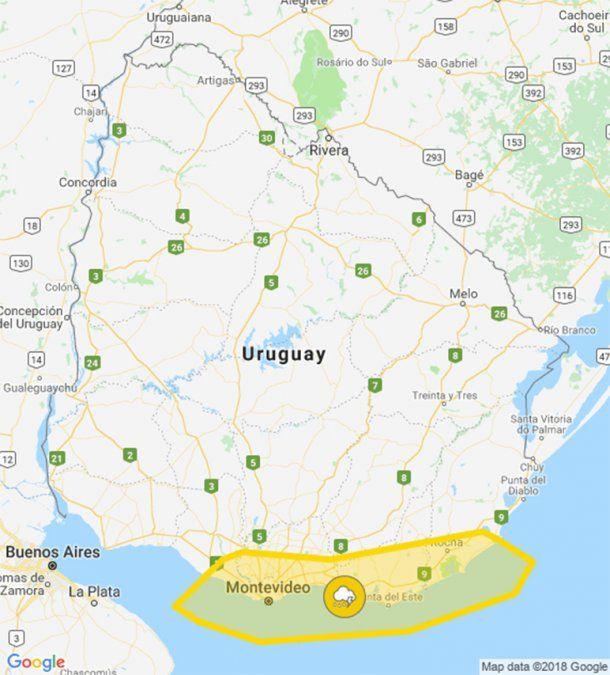 Reducen alerta amarilla por tormentas a la costa sureste del país