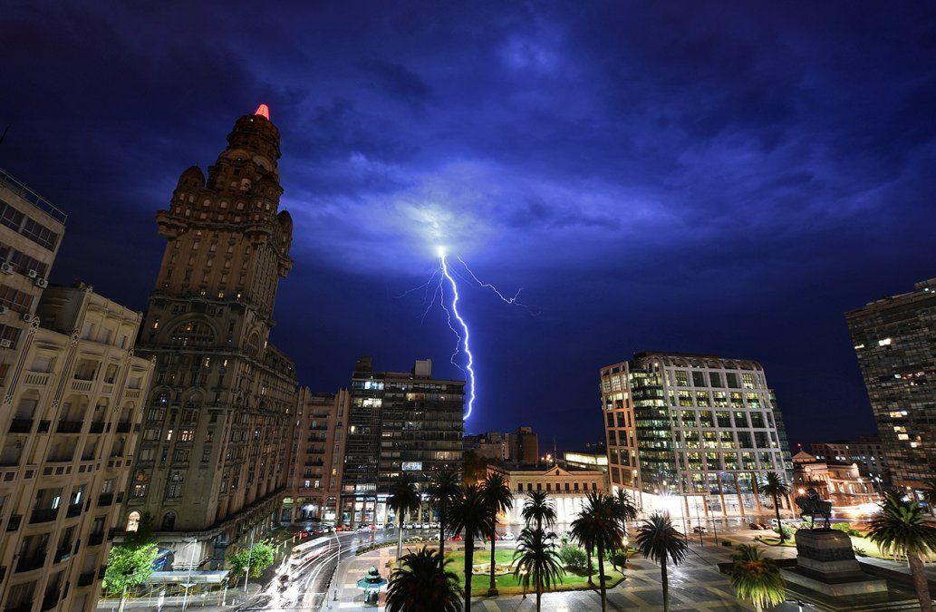 Ahora hay advertencia amarilla por tormentas para 16 departamentos