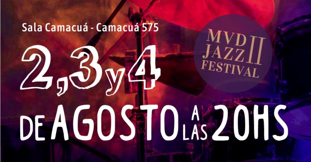 Llega la segunda edición de MVD Jazz Festival a Sala Camacuá