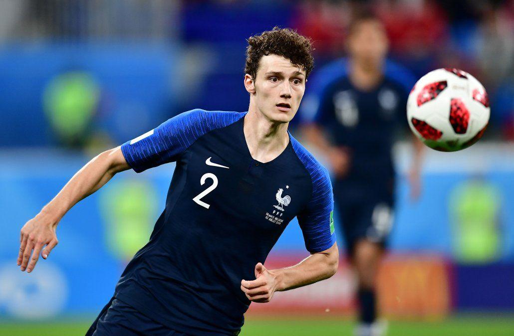 El gol de Pavard a Argentina fue elegido como el mejor del Mundial