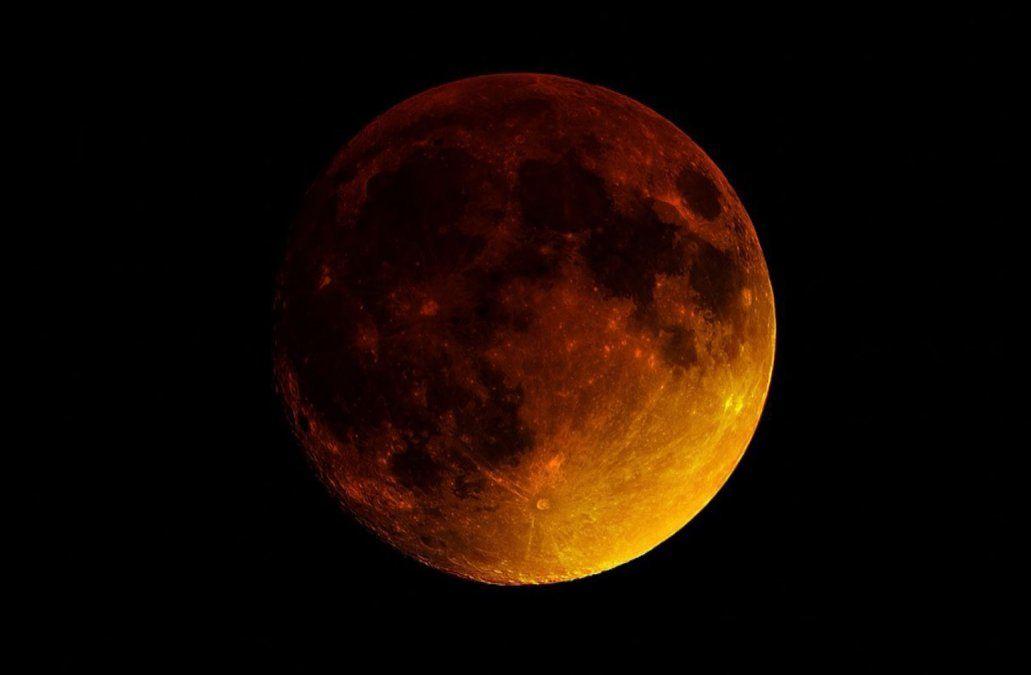 En Uruguay el eclipse total de Luna ser podrá ver desde las seis de la tarde
