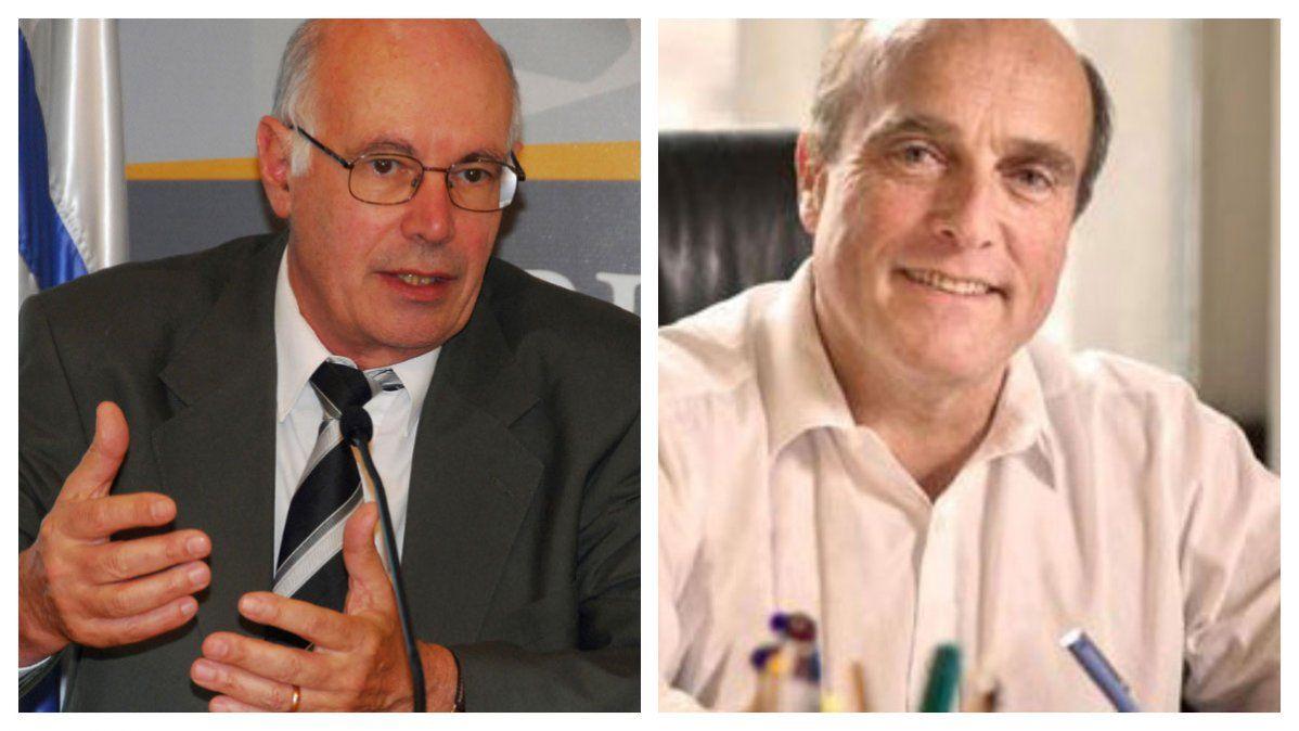 Enrique Rubio y Daniel Marttínez: los tiempo políticos apremian. Foto de Rubio (Presidencia). Foto de Martínez:@Dmartinez_uy