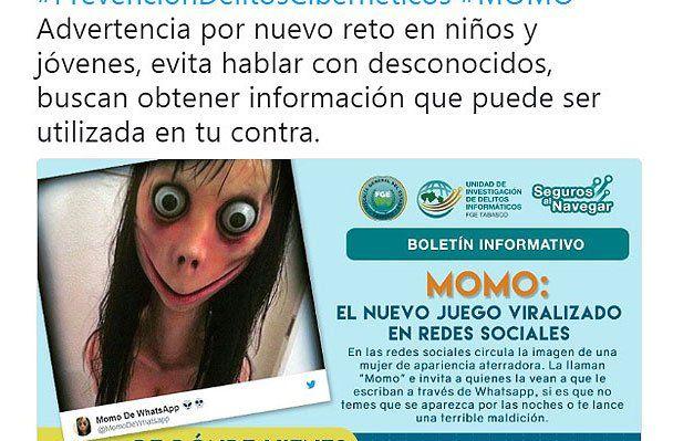El juego se ha viralizado y el Estado de Tabasco en México estableció una campaña de prevención