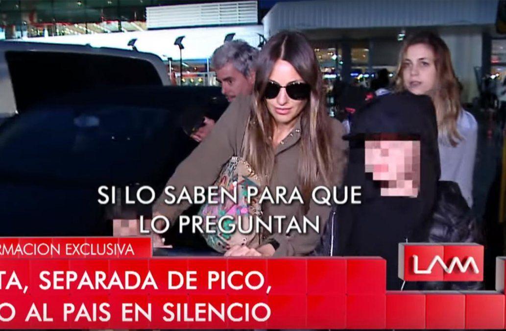 Hijo de Pampita salió en su defensa ante insistentes preguntas de periodistas