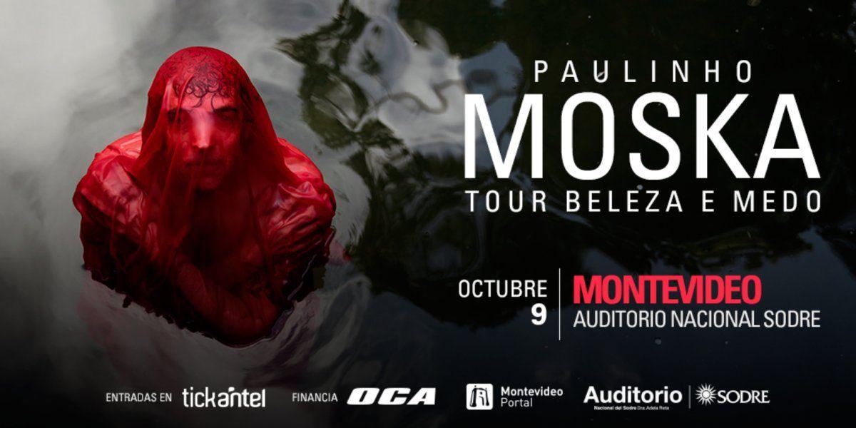 Paulinho Moska presenta en Montevideo Beleza e medo tour