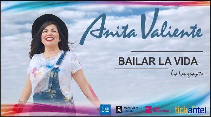 Anita Valiente se presenta en Montevideo y varias ciudades del interior