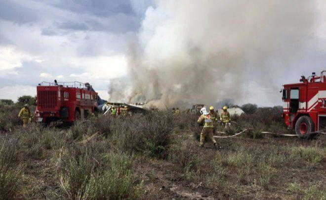 Despegue fallido de un avión de pasajeros en México deja decenas de heridos